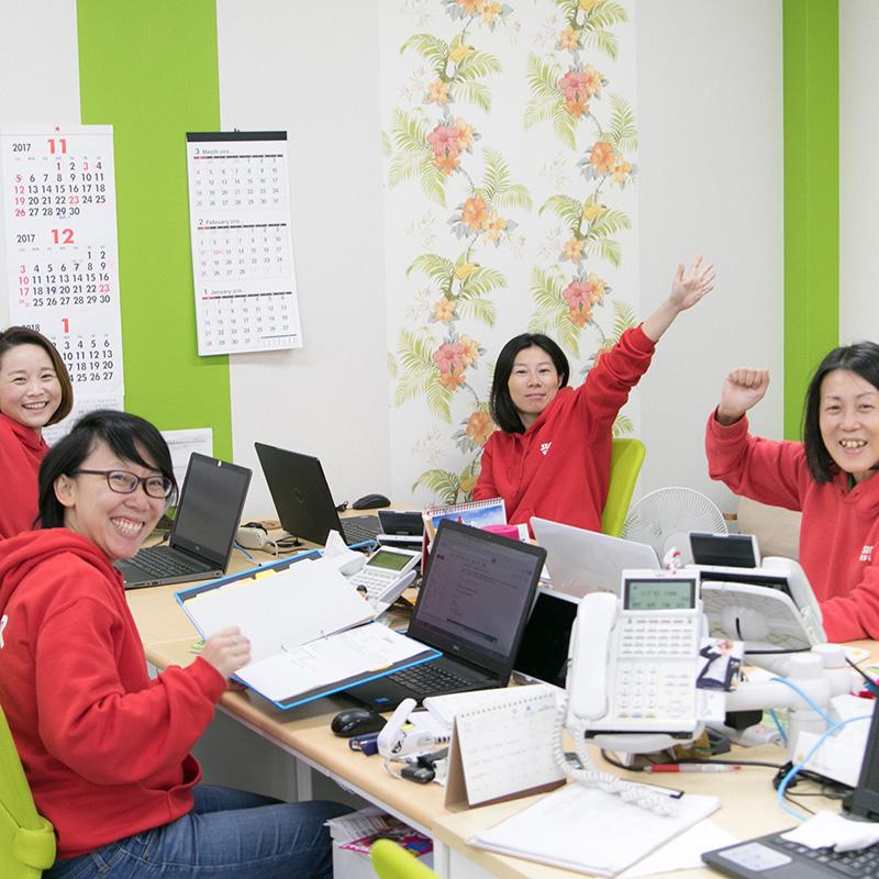 イメージ:女性のインストラクターが長く活躍する職場